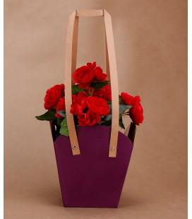 Papierowa Torebka na Kwiaty 45/16cm