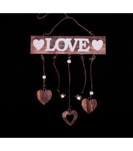"""Girlanda Serce z Napisem """"Love""""24/20cm"""