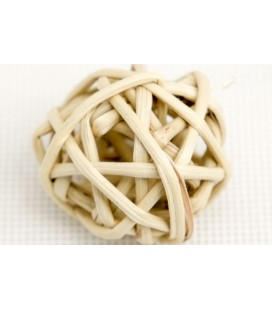 BRANCH BALL 6 CM S/18 NATURAL