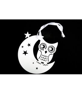 Sowa na Księżycu Zawieszka