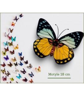 MOTYLE 18CM KLIPS S/12