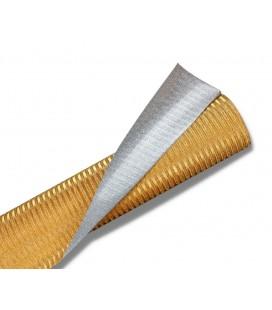 Papier Złote Paski 70cm*5yd
