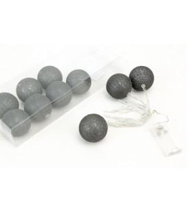 Cotton Ball 6cm Graphit