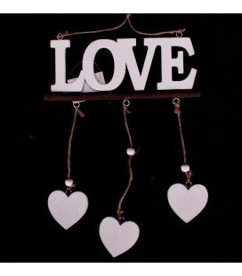 """Girlanda Serce z Napisem """"Love""""27,5/18cm"""