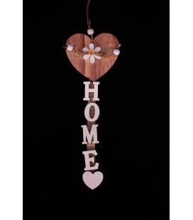 """Girlanda Serce z Napisem """"Home""""26/8,5cm"""