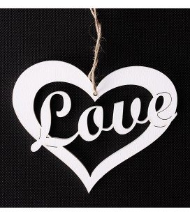 Zawieszka LOVE 15/12cm