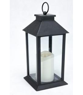 Lampion Plastikowy z Wkładem 28/14cm