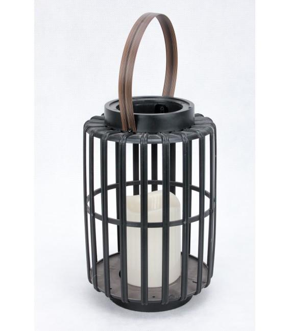 Plastikowy Lampion z Wkładem 25/14cm
