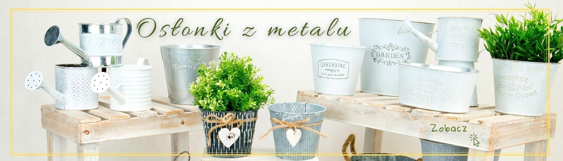 Osłonki z metalu - oferta LUK